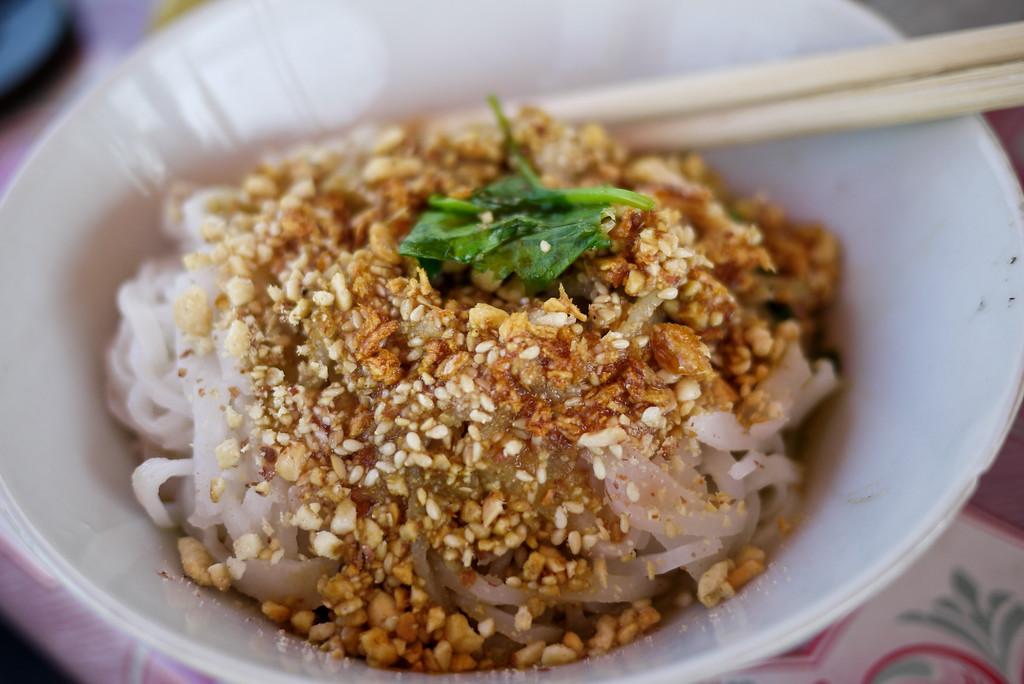 Shan noodle dish Myanmar