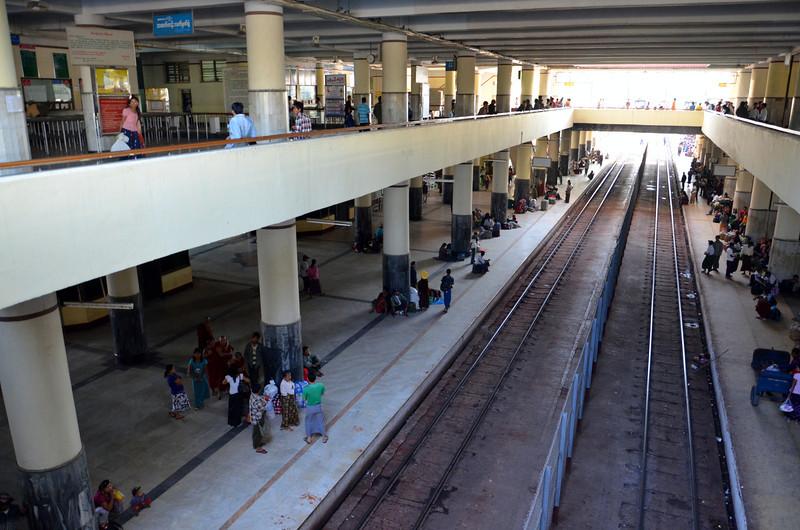 Mandalay Station platforms