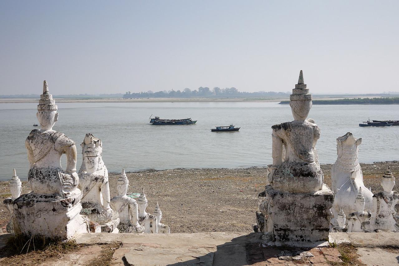 The Irrawaddy River, from Mingun, near Mandalay.