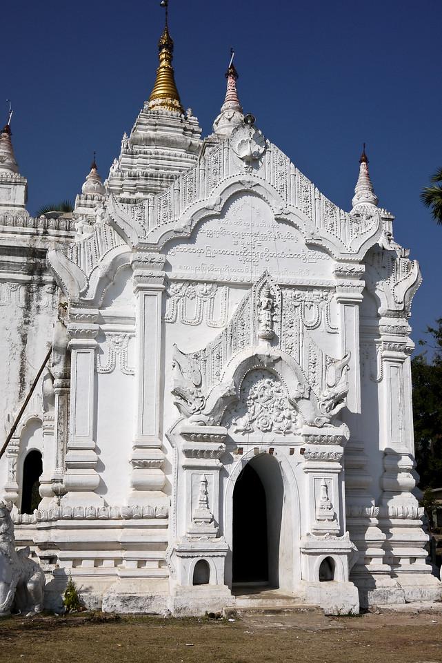 Temples of Mingun, on the Irrawaddy River near Mandalay.