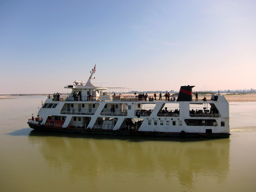 ferry from mandalay to bhamo