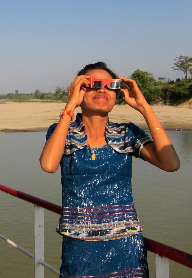 solar eclipse myanmar