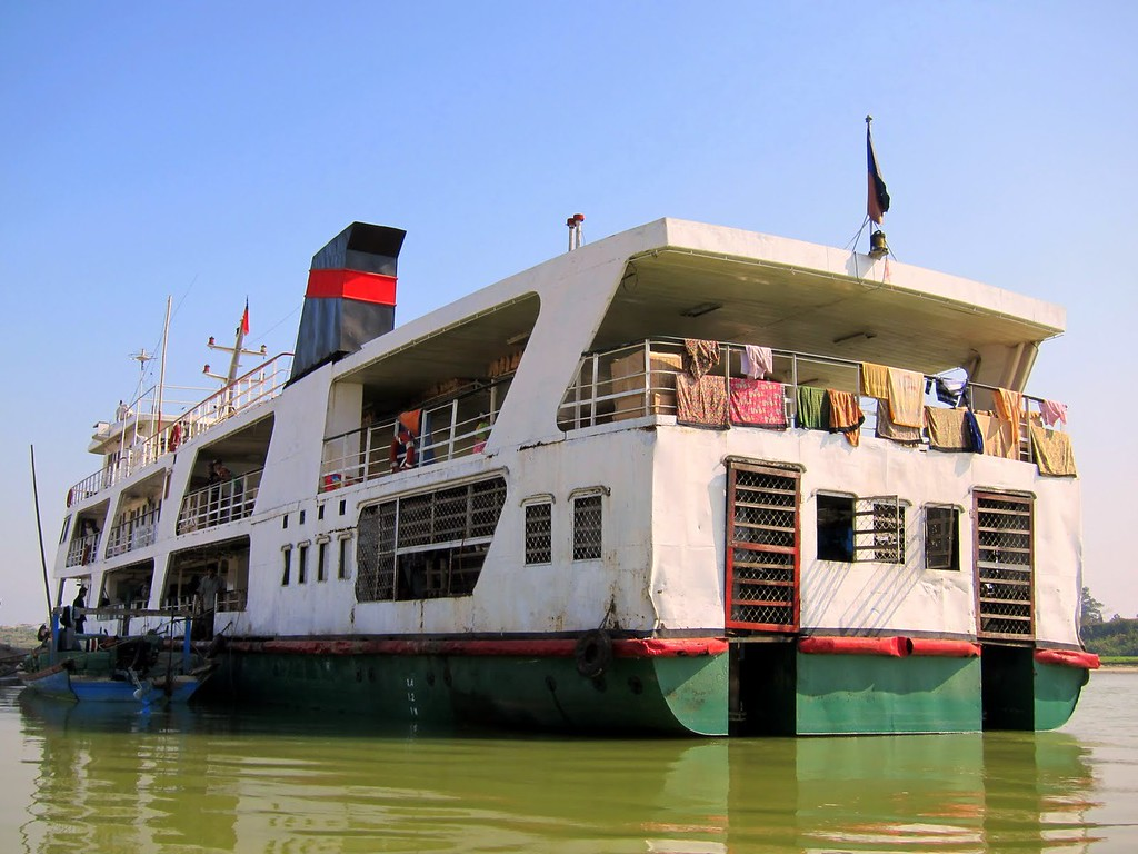 government ferry bhamo to mandalay