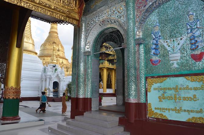 Shwedagon Paya Temples