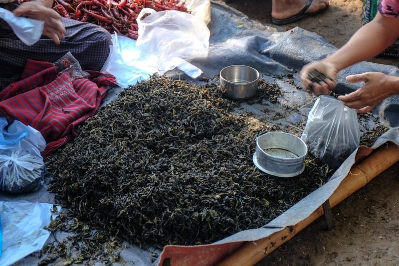 Tea leaves for sale