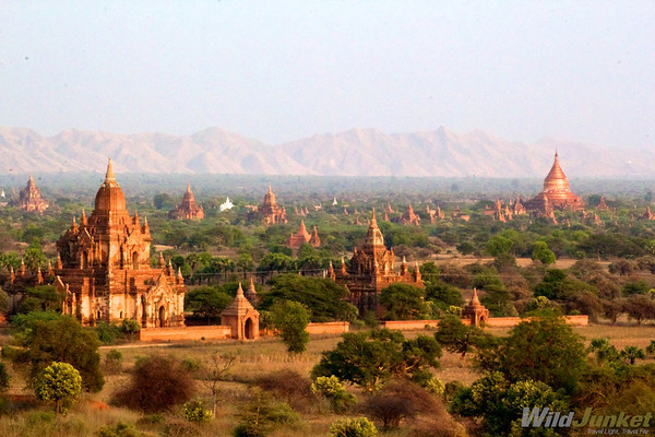 View from Sunset Pagoda, Bagan