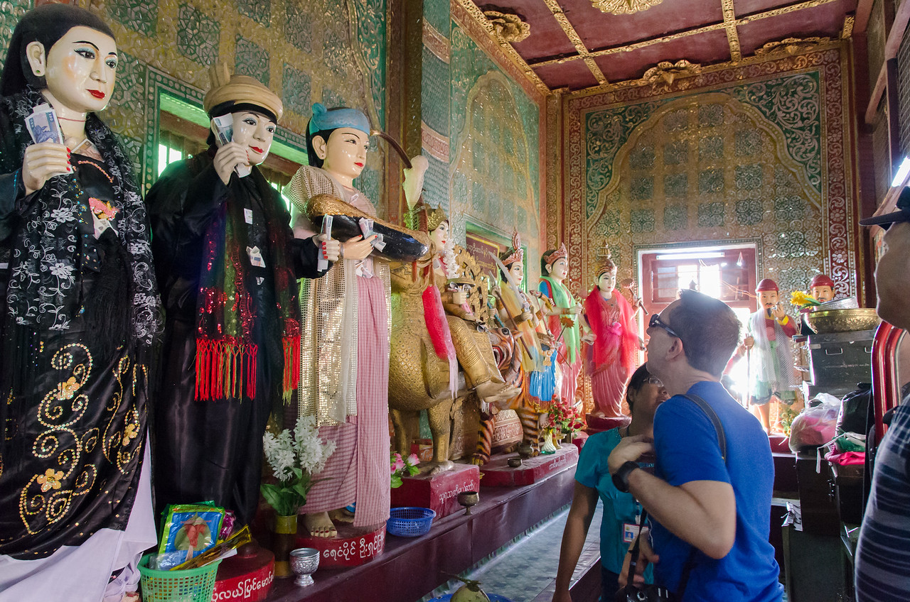 Nats are spirit gods worshipped in Myanmar.
