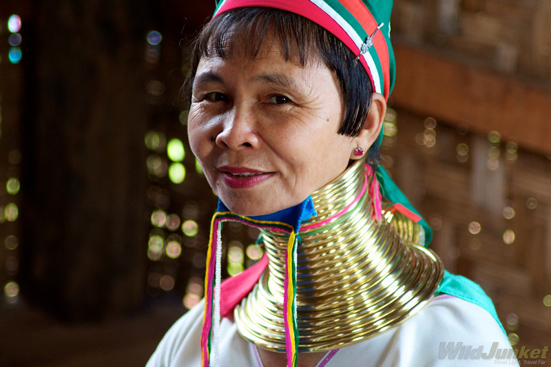 A Karen tribal lady