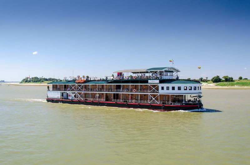 Pandow cruise lines is a luxury line in Myanmar.