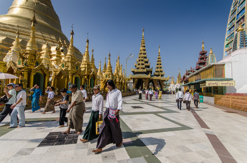 Legend says that Shwedagon is 2600 years old, archaeologists and historians place it at about 600AD.