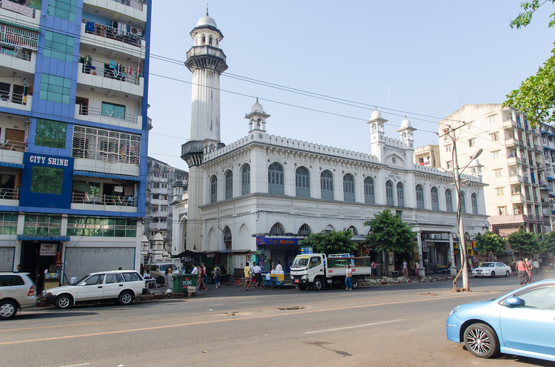 The Mogul Shiah Jamay Mosque.