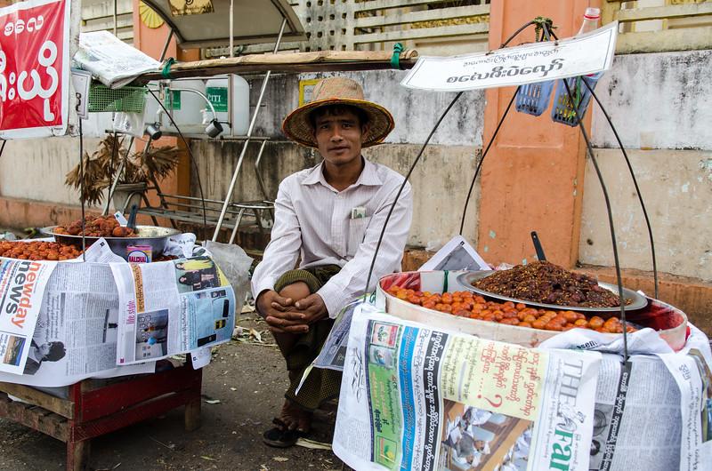 Fruit vendor.