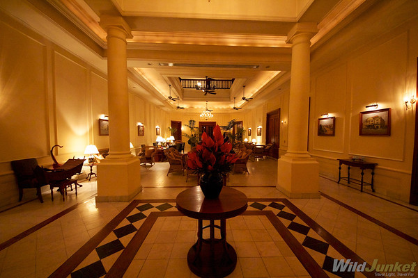Main Lobby, The Strand hotel, Yangon