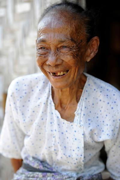 Friendly old lady