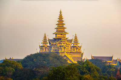Bagan Golden Palace located in Old Bagan, Myanmar
