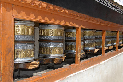 Prayer wheels...