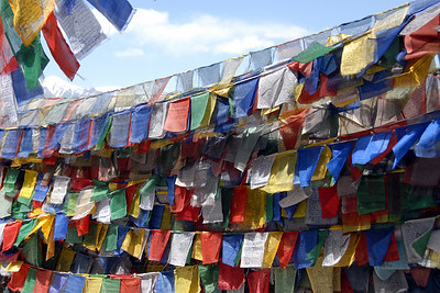 Prayer flags...