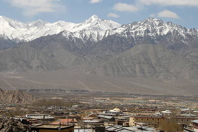 The view in Leh...
