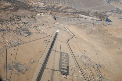 The airstrip in Leh...