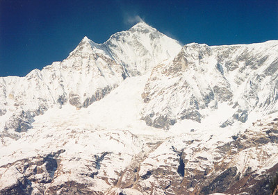 Dhaulagiri and the Dhaulagiri icefall