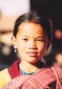 Girl in Patan