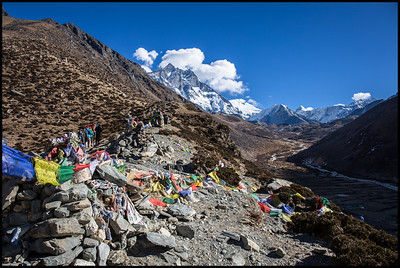 Acclimatisation trek up Chhukung, Dingboche