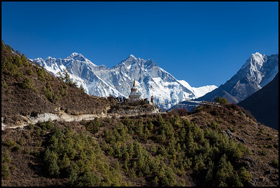 Route to Tengboche