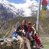 Girls in the Himalaya.