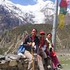 Girls in the Himalaya.
