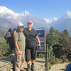Nepali Female Guide- Archana Karki with client.