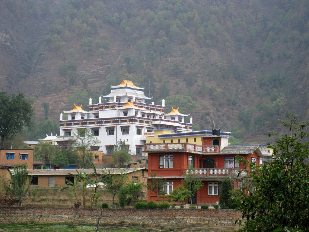 monastery english nepal