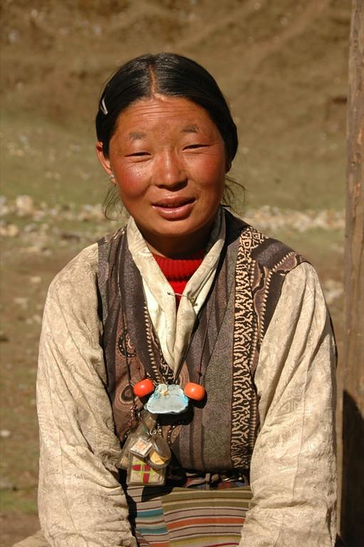 Tibetan Smile - Annapurna Circuit, Nepal