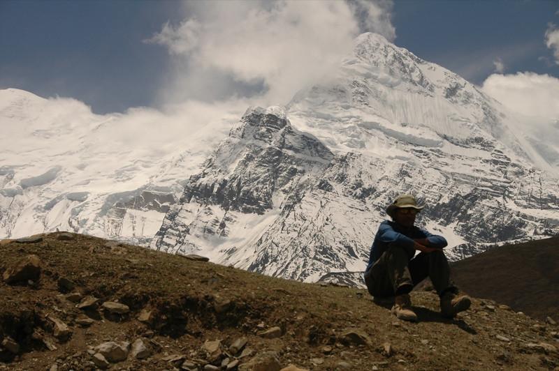 Gangapurna Peak - Annapurna Circuit, Nepal