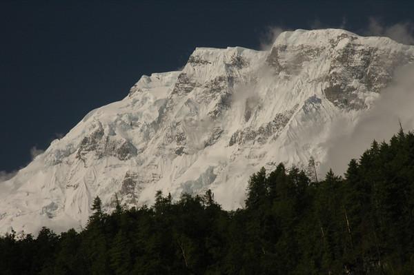 Snow-Capped Annapurna 2 Peak - Annapurna Circuit, Nepal