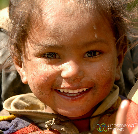 Young Welcome - Annapurna Circuit, Nepal