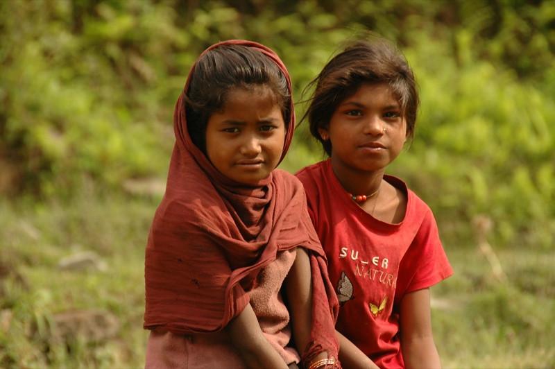 Nepali Girls - Annapurna Circuit, Nepal