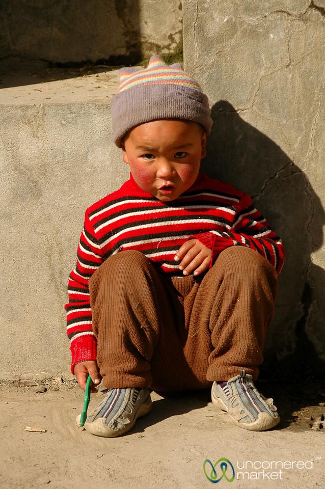 Rosy Cheeks & a Warm Hat - Annapurna Circuit, Nepal