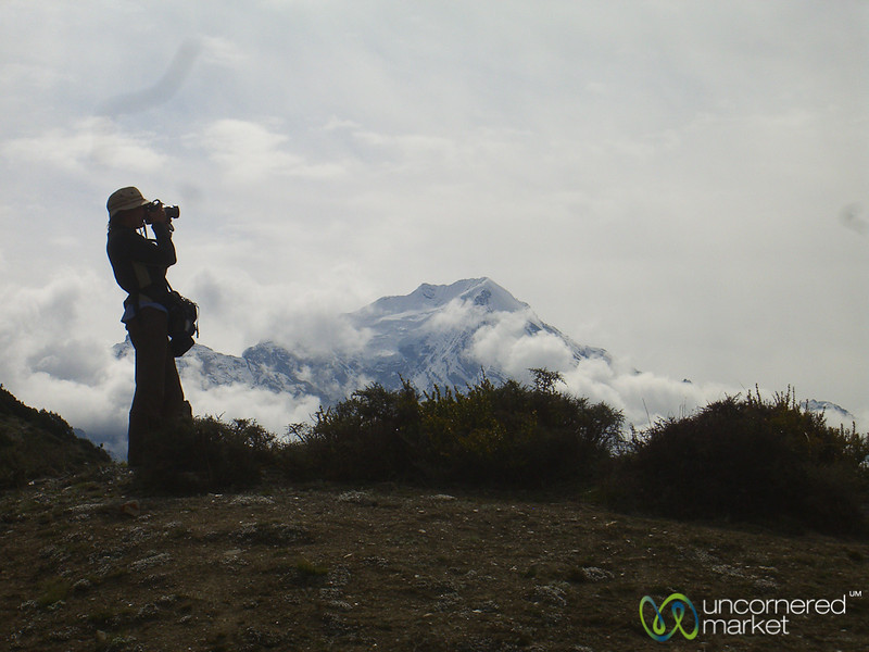 Audrey the Photographer - Annapurna Circuit, Nepal