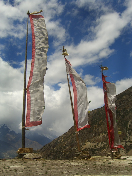 Prayer Flags - Annapurna Circuit, Nepal