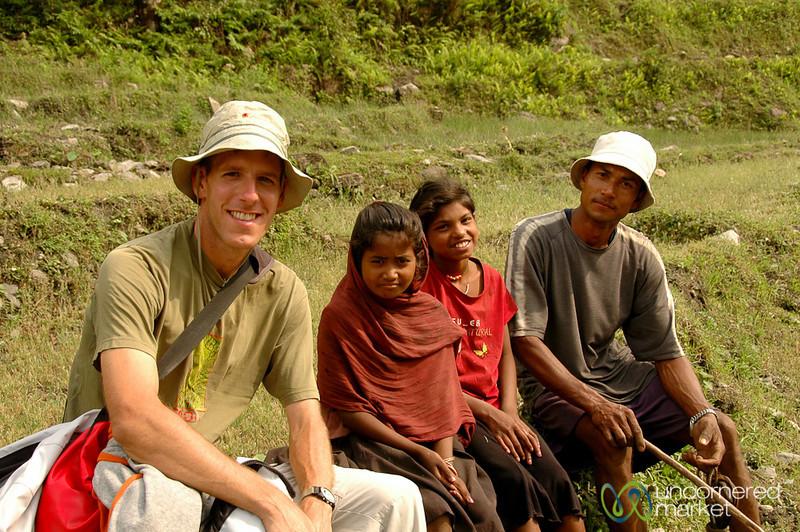 Taking a Break - Annapurna Circuit, Nepal