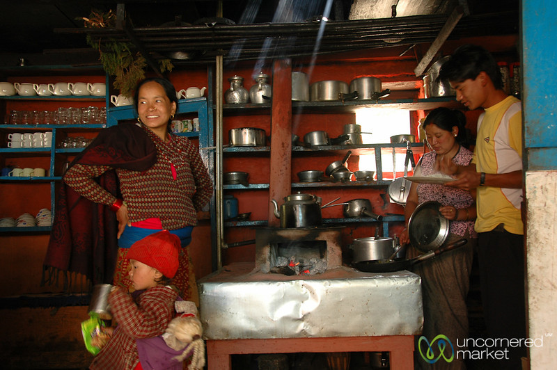 Inside the Kitchen - Annapurna Circuit