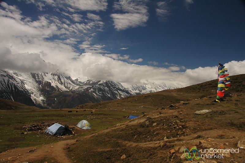 Windy at the Top - Annapurna Circuit, Nepal
