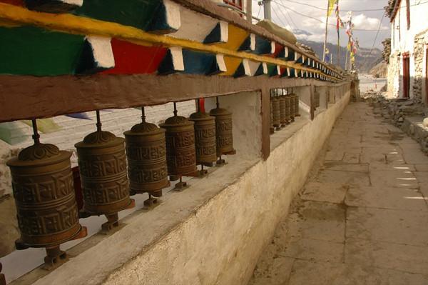 Tibetan Prayer Wheels - Annapurna Circuit, Nepal