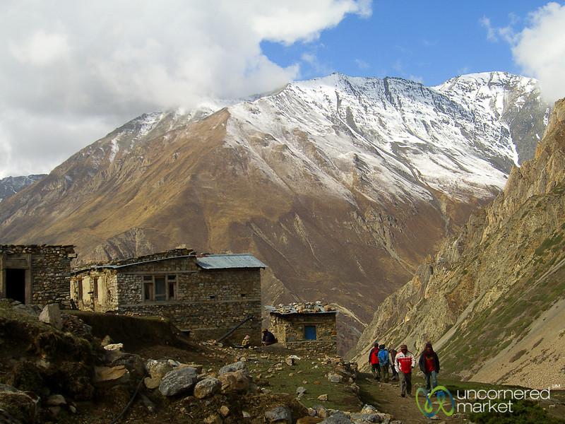 Trekking up to Yak Kharka - Annapurna Circuit, Nepal