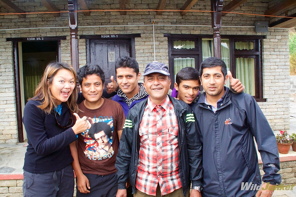 By hiring local porters, you are contributing directly to their community.