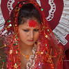 Young women at her Wedding Day in Pokhara, Nepal