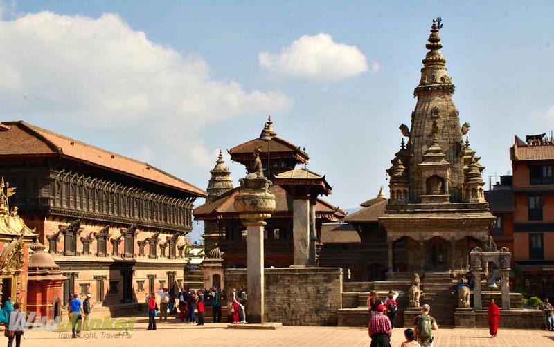 Durbur Square in Bhaktapur