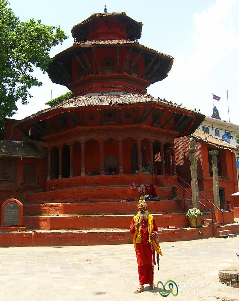 A Sadhu on Durbar Square - Kathmandu, Nepal