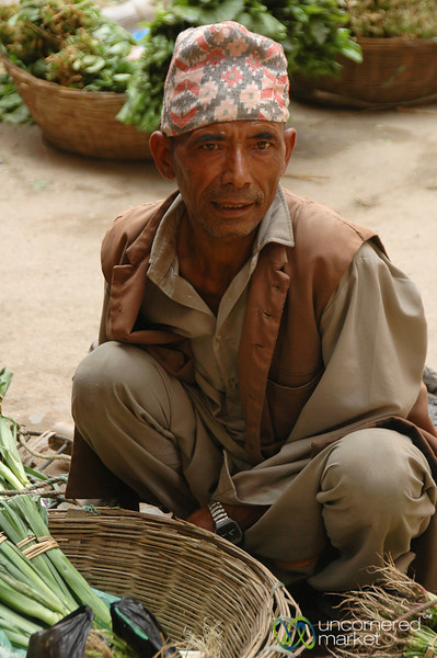 Vegetable Vendor - Kathmandu, Nepal