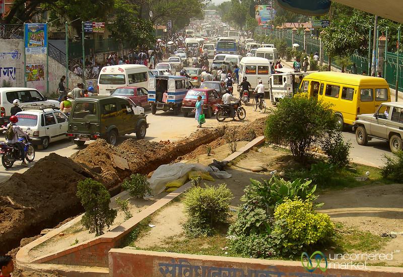 Kathmandu Traffic - Nepal